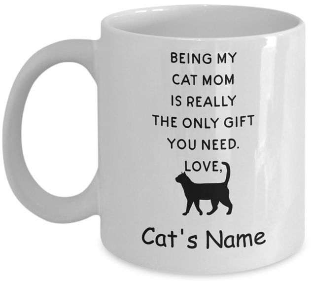 Image of Only Gift a Cat Mom Needs is a Cat mug
